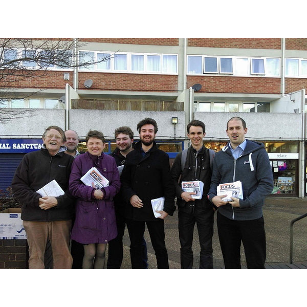 Town Close campaigning