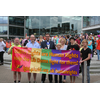Norwich Lib Dems at the Forum ahead of Pride 2016