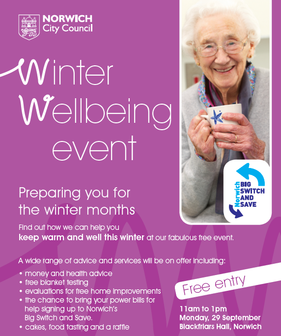 Winter Wellbeing Event